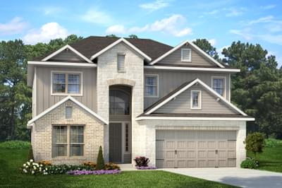 Geary II  New Home in Killeen
