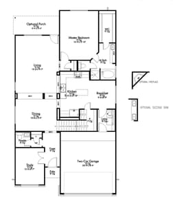 2,619sf New Home in Temple, TX