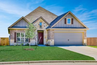 New Home in College Station, TX Elevation A