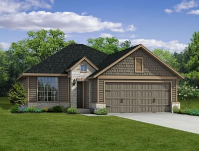 1363 New Home in Bryan, TX Elevation C
