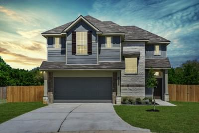 1604 New Home in College Station