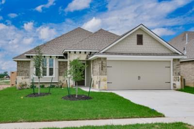 1,620sf New Home in Temple, TX Elevation B