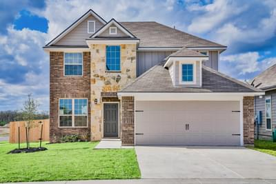 2239 New Home in Navasota, TX Elevation A