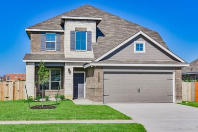 4br New Home in Waco, TX Elevation B