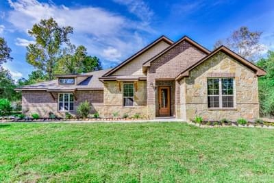 2,641sf New Home in Montgomery, TX Elevation B