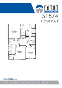 S-1874 Home with 3 Bedrooms