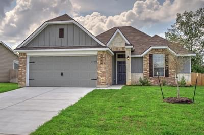 1593 New Home in Conroe