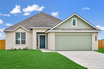 S-1613 New Home in Tomball