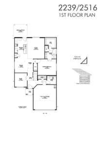2,345sf New Home in Waco, TX