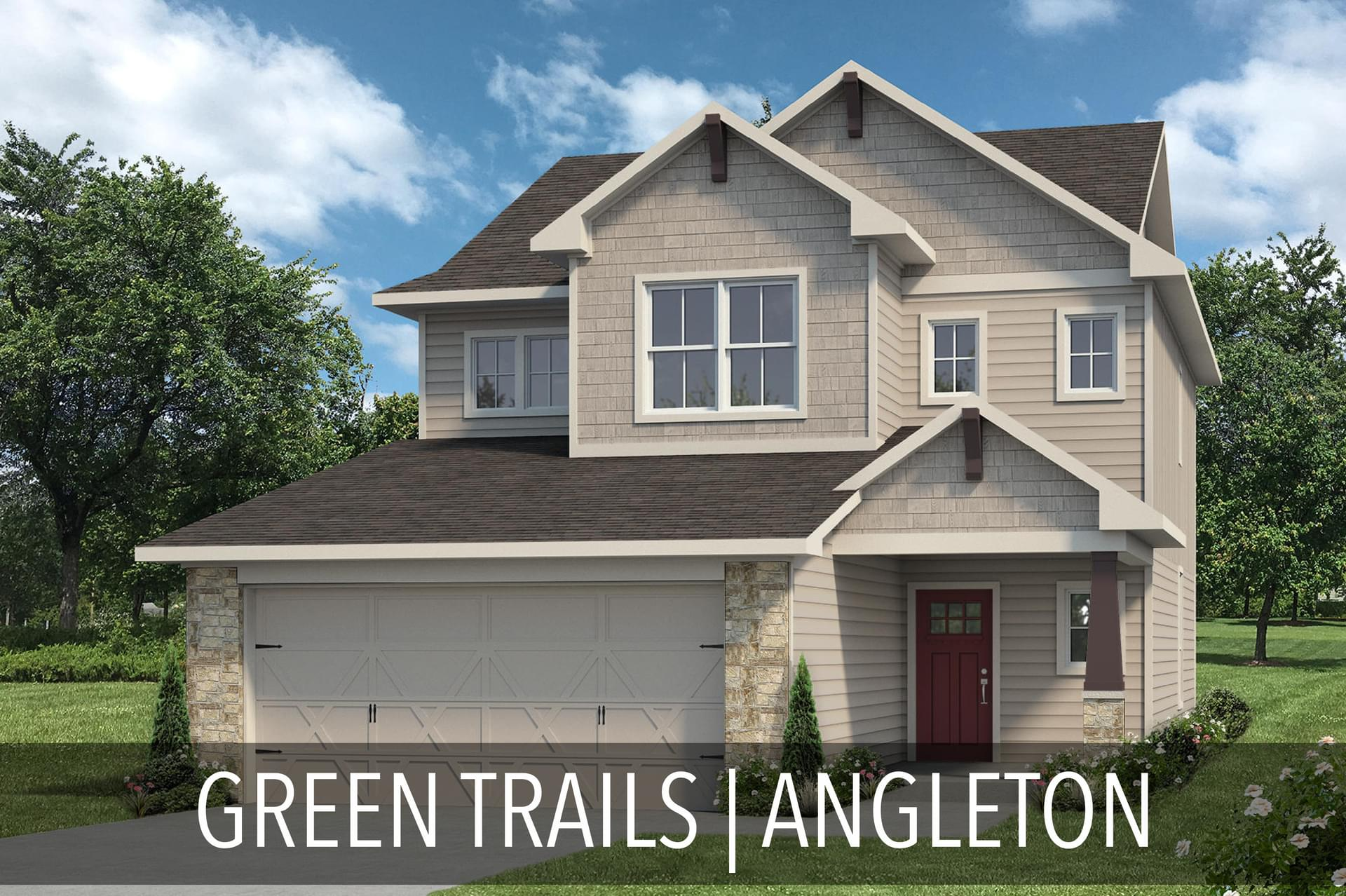Green Trails New Homes in Angleton, TX