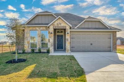 3br New Home in College Station, TX Elevation C