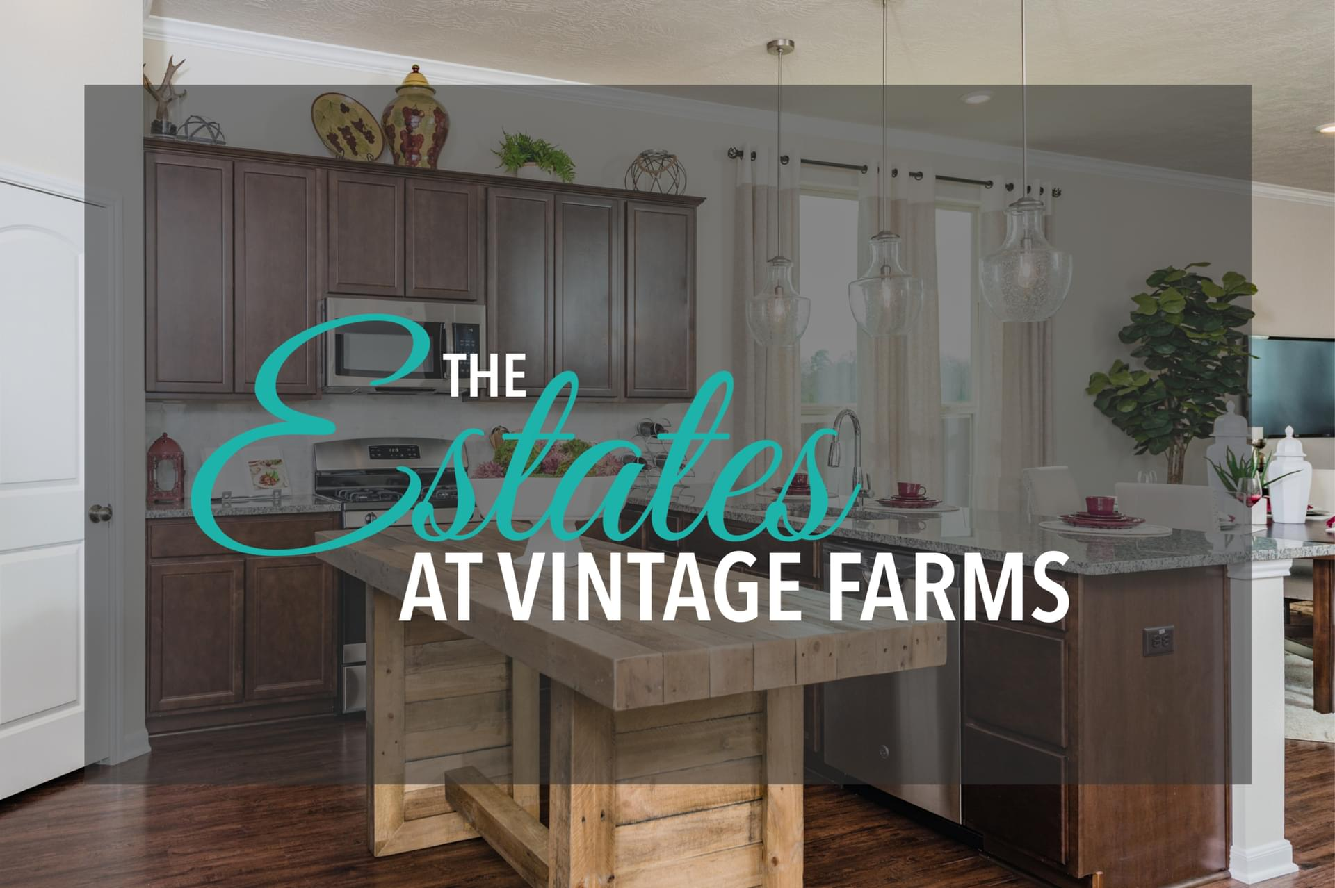 The Estates at Vintage Farms New Homes in Brenham, TX
