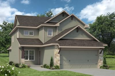The Brookshire New Home in Angleton