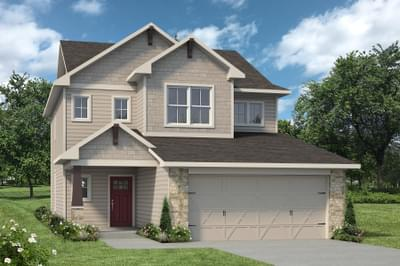 The Burke New Home in Angleton