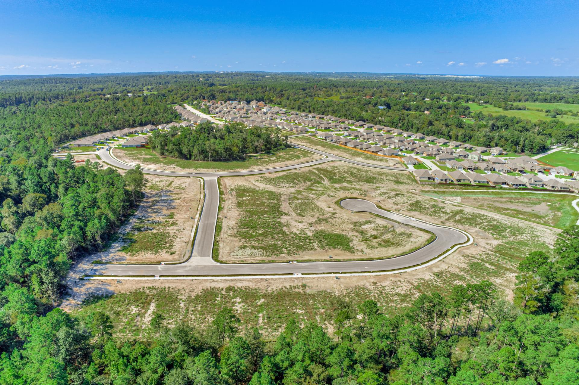 Sterling Ridge New Homes in Huntsville, TX