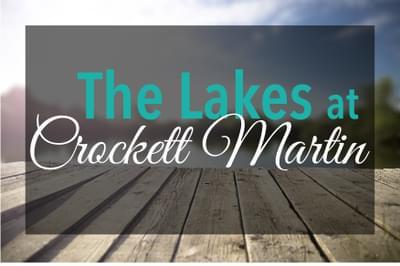The Lakes at Crockett Martin New Homes in Conroe, TX