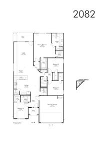 2,041sf New Home in Bryan, TX