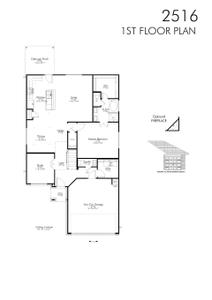 2,583sf New Home in Killeen, TX