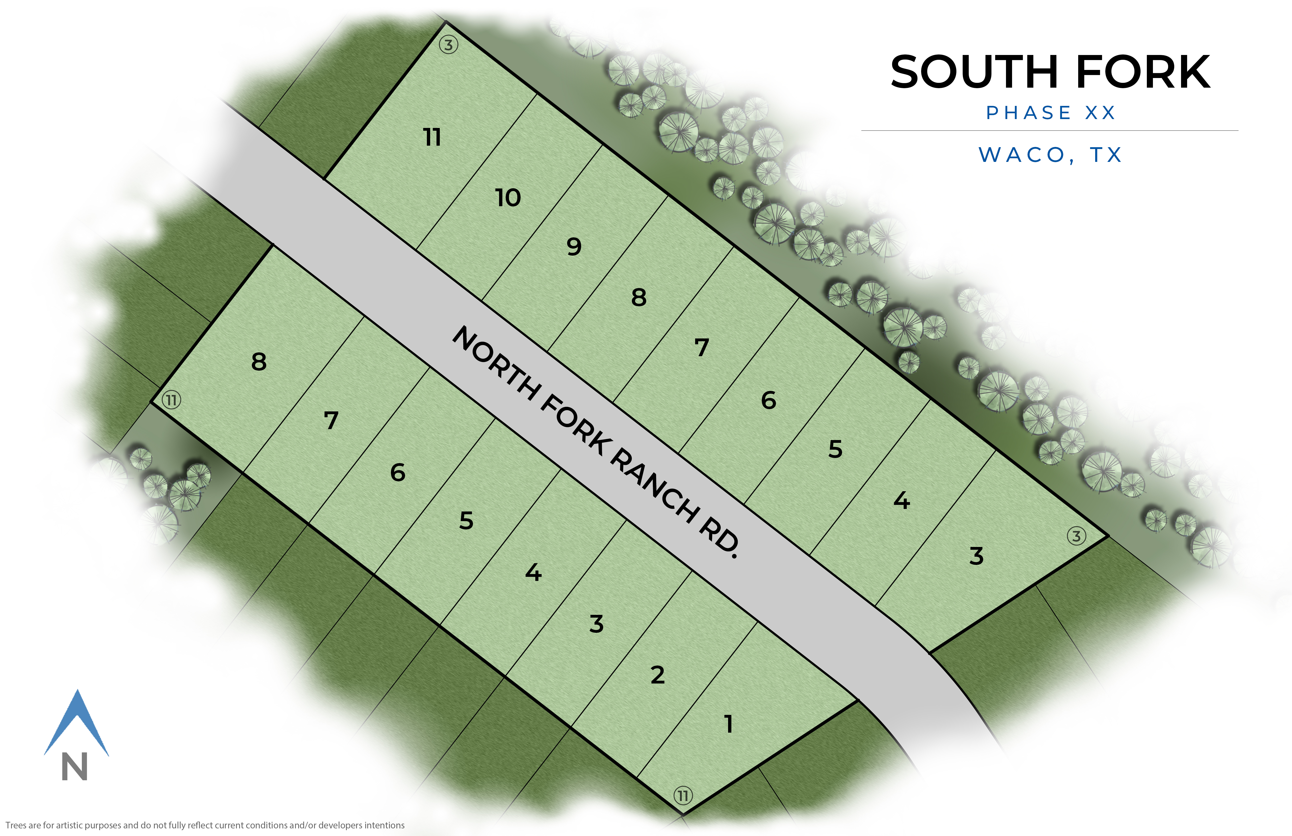 Waco, TX South Fork New Homes from Stylecraft Builders