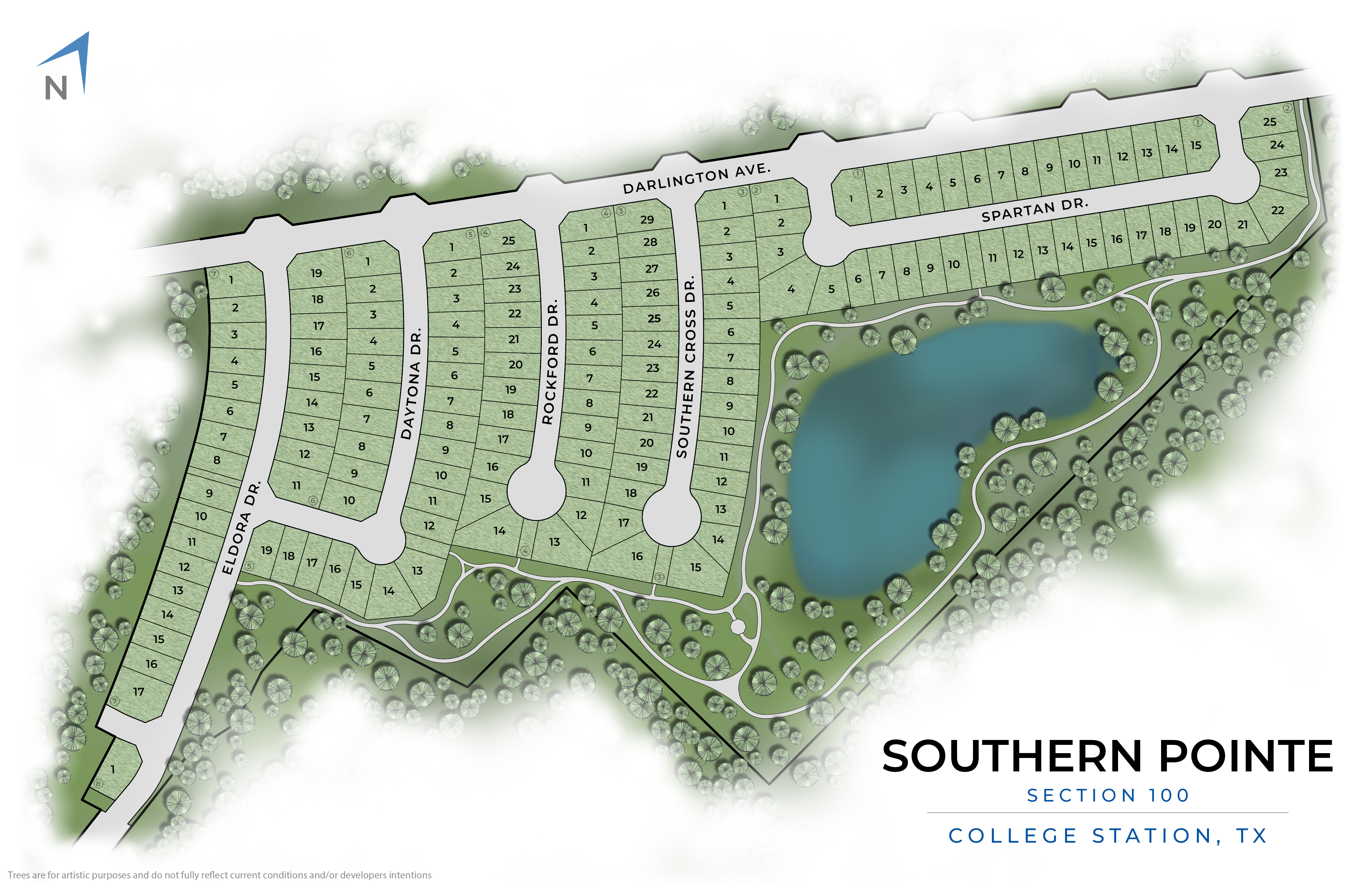 College Station, TX Southern Pointe New Homes from Stylecraft Builders