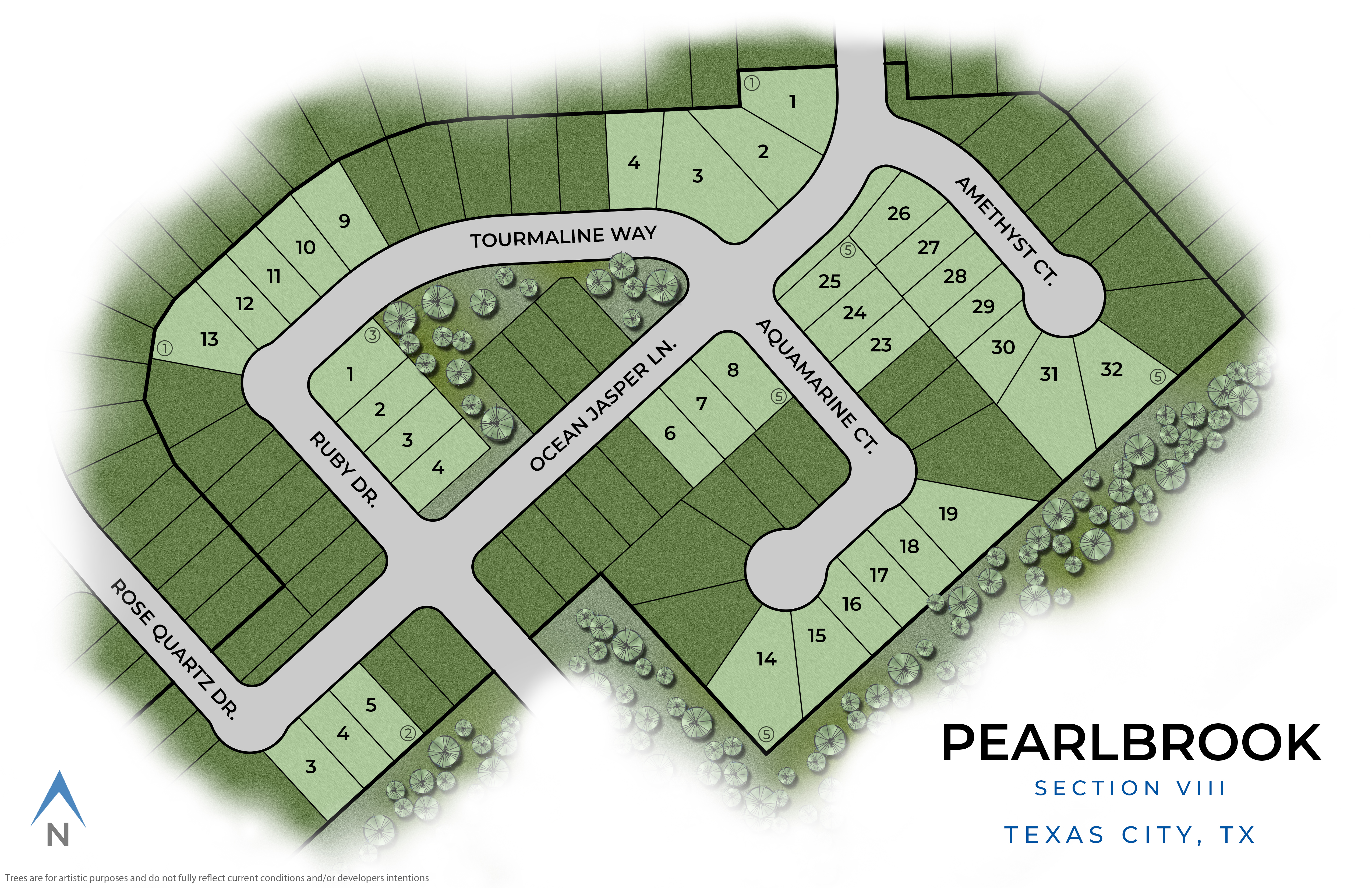 Texas City, TX Pearlbrook New Homes from Stylecraft Builders