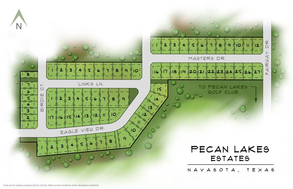 Navasota, TX Pecan Lakes Estates New Homes from Stylecraft Builders