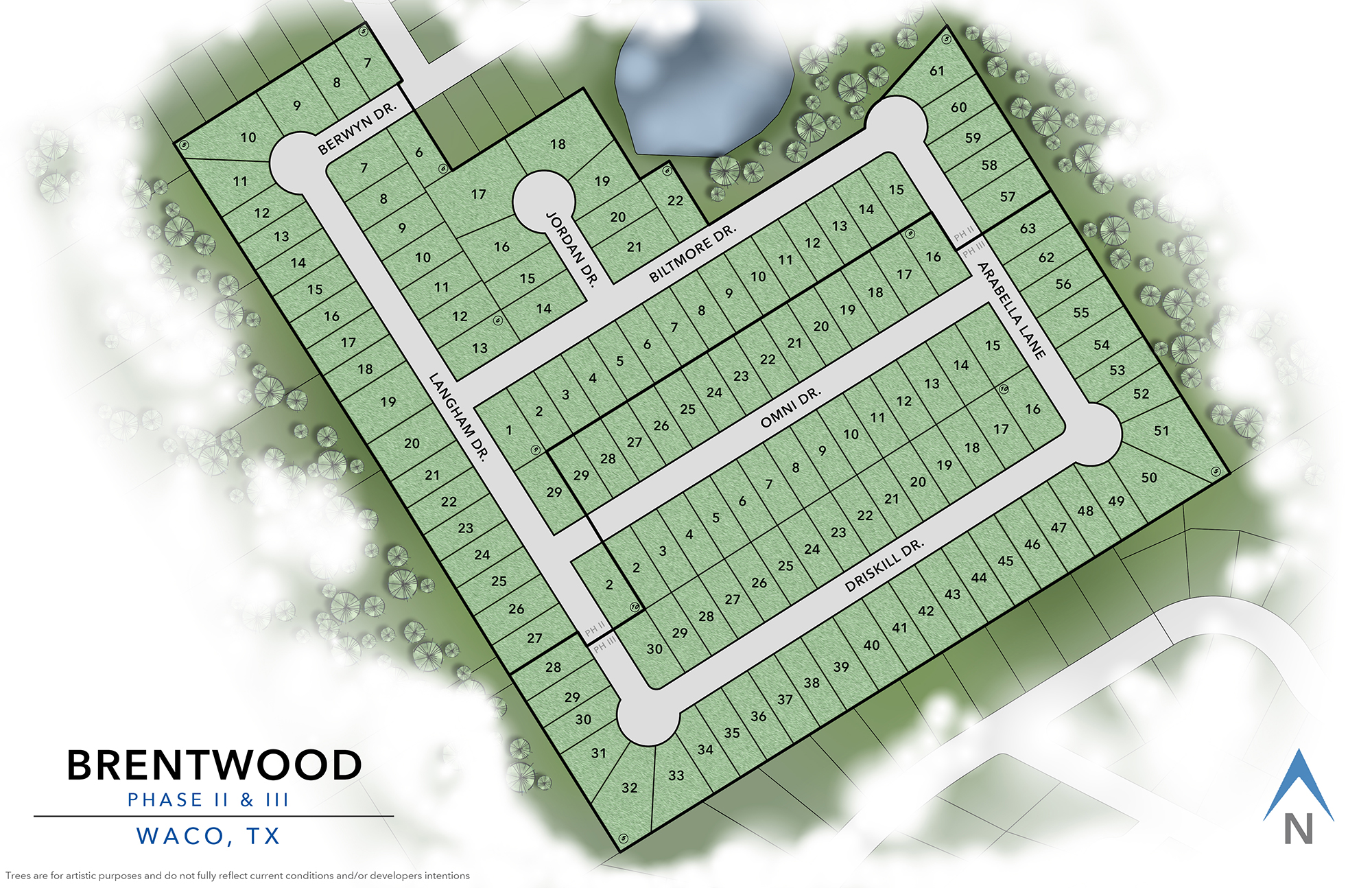 Waco, TX Brentwood New Homes from Stylecraft Builders