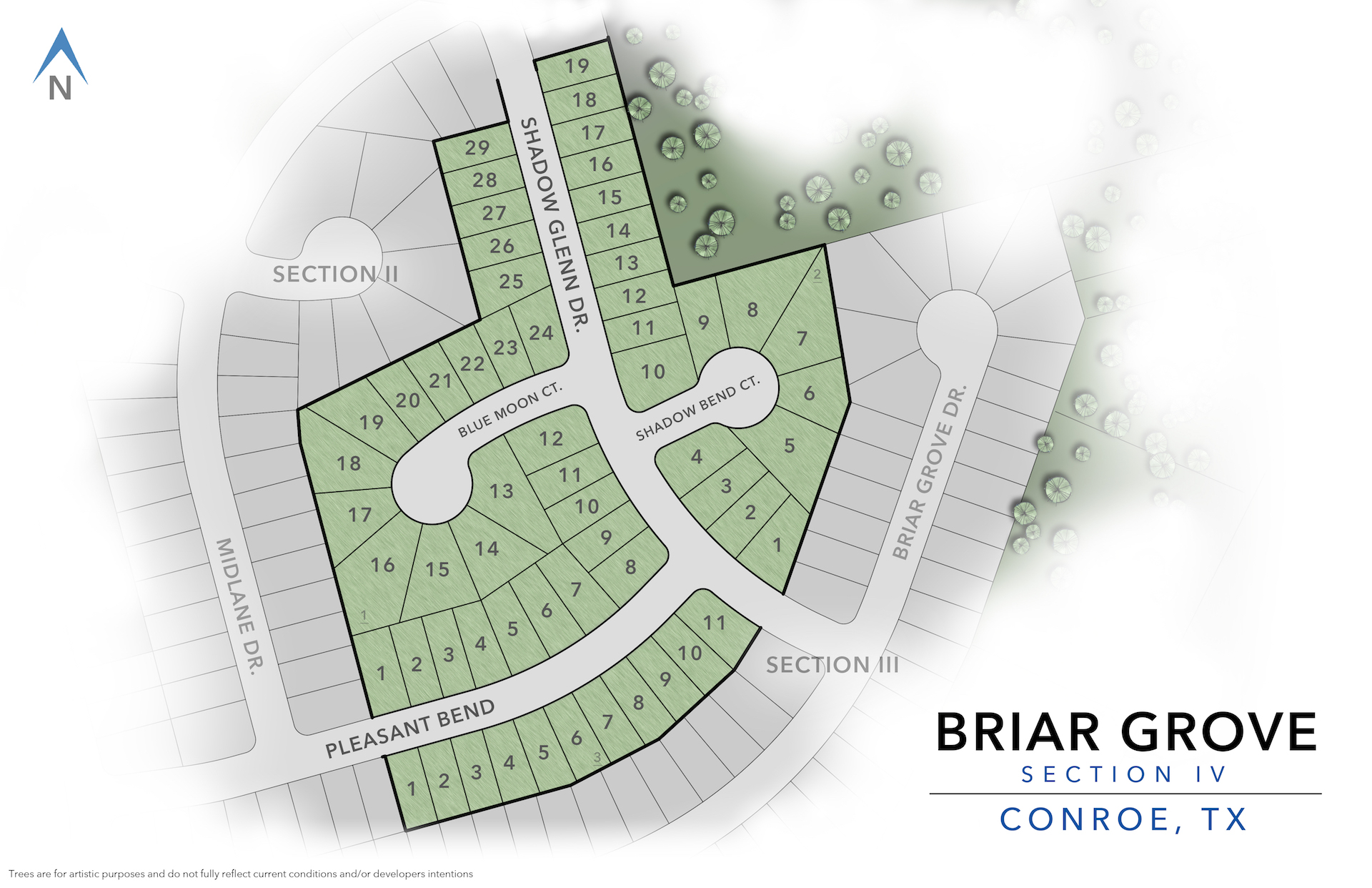 Conroe, TX Briar Grove New Homes from Stylecraft Builders
