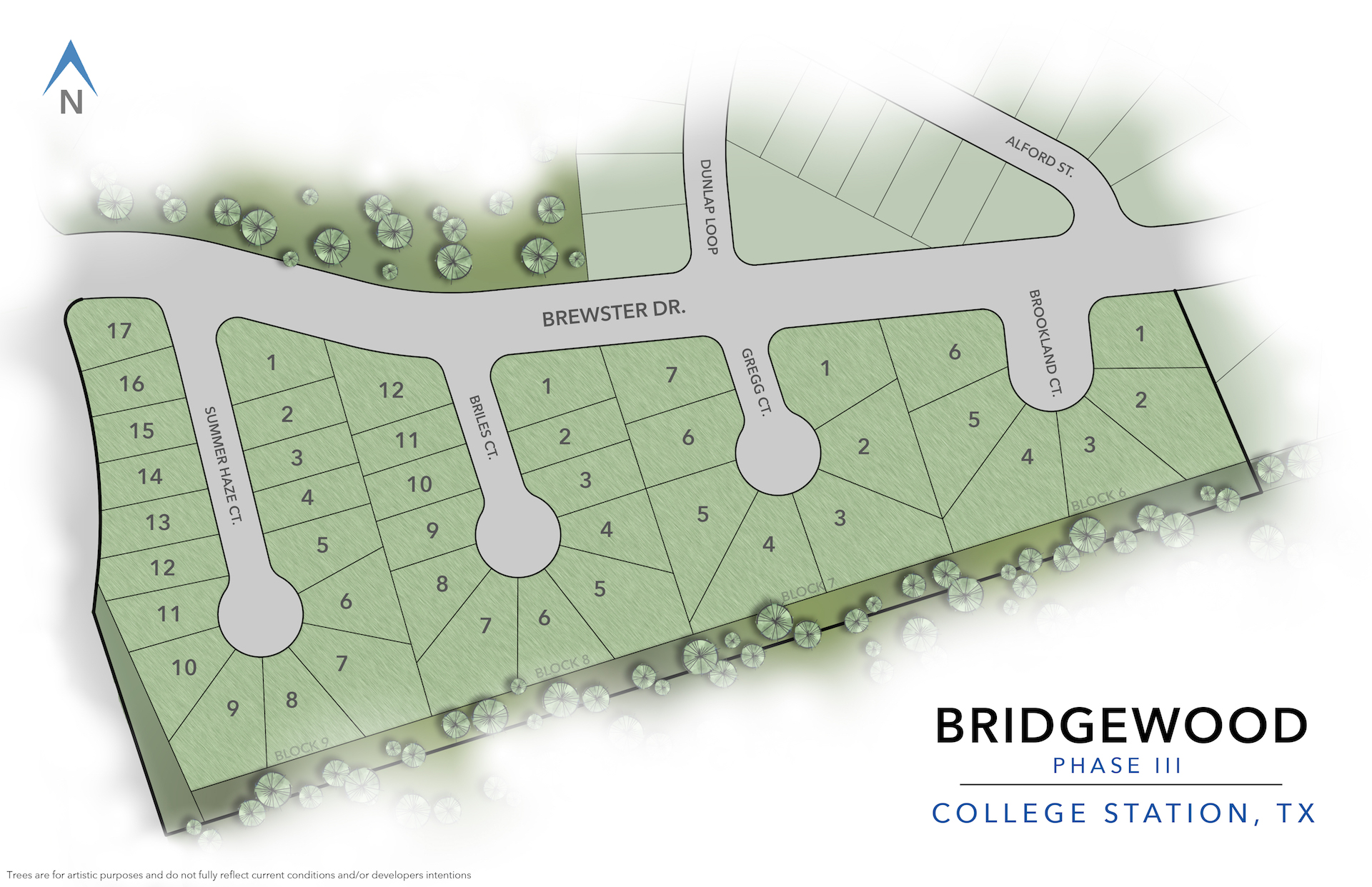 College Station, TX Bridgewood New Homes from Stylecraft Builders