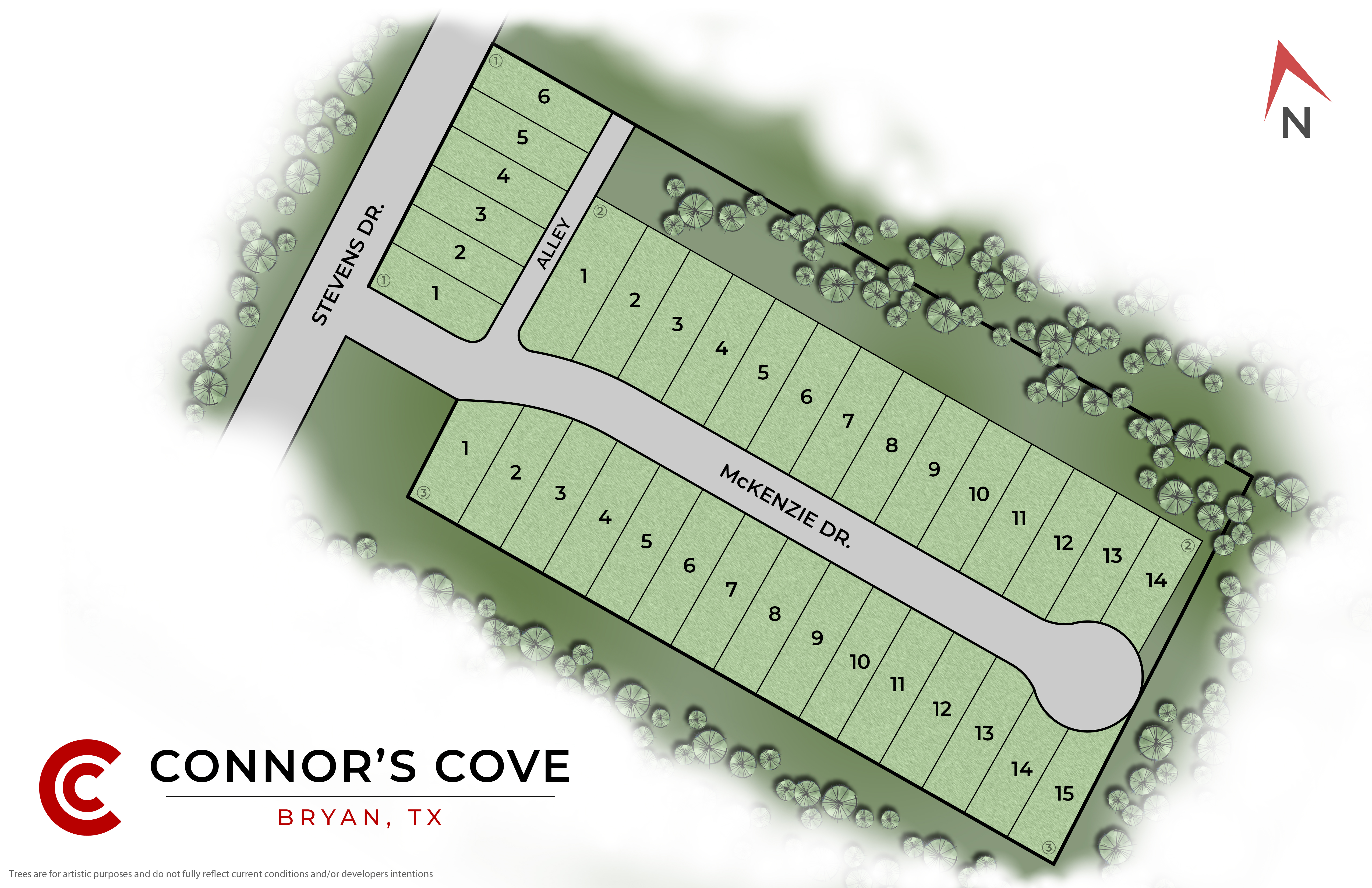 Bryan, TX Connor's Cove New Homes from Stylecraft Builders