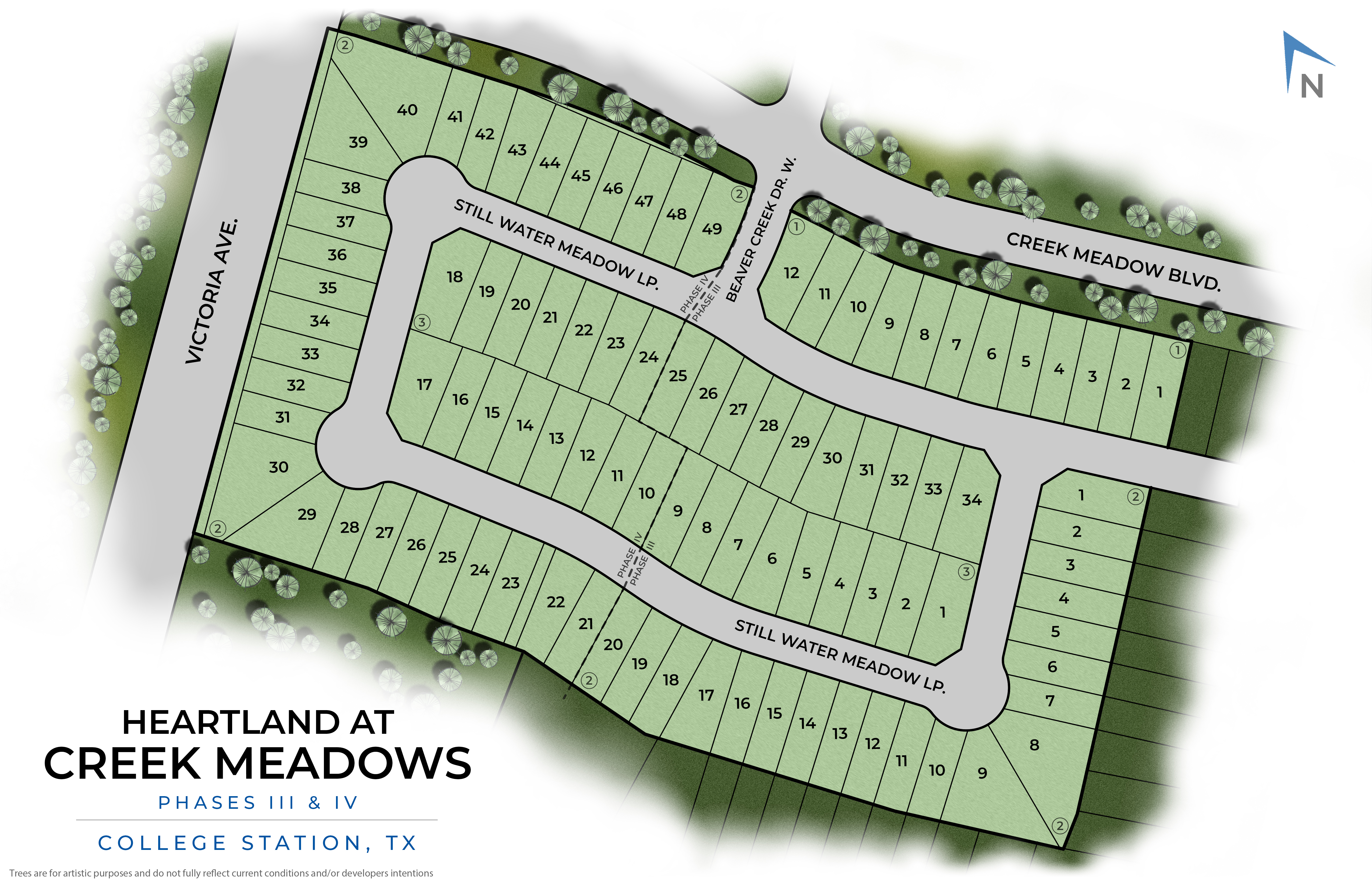 College Station, TX Heartland at Creek Meadows New Homes from Stylecraft Builders
