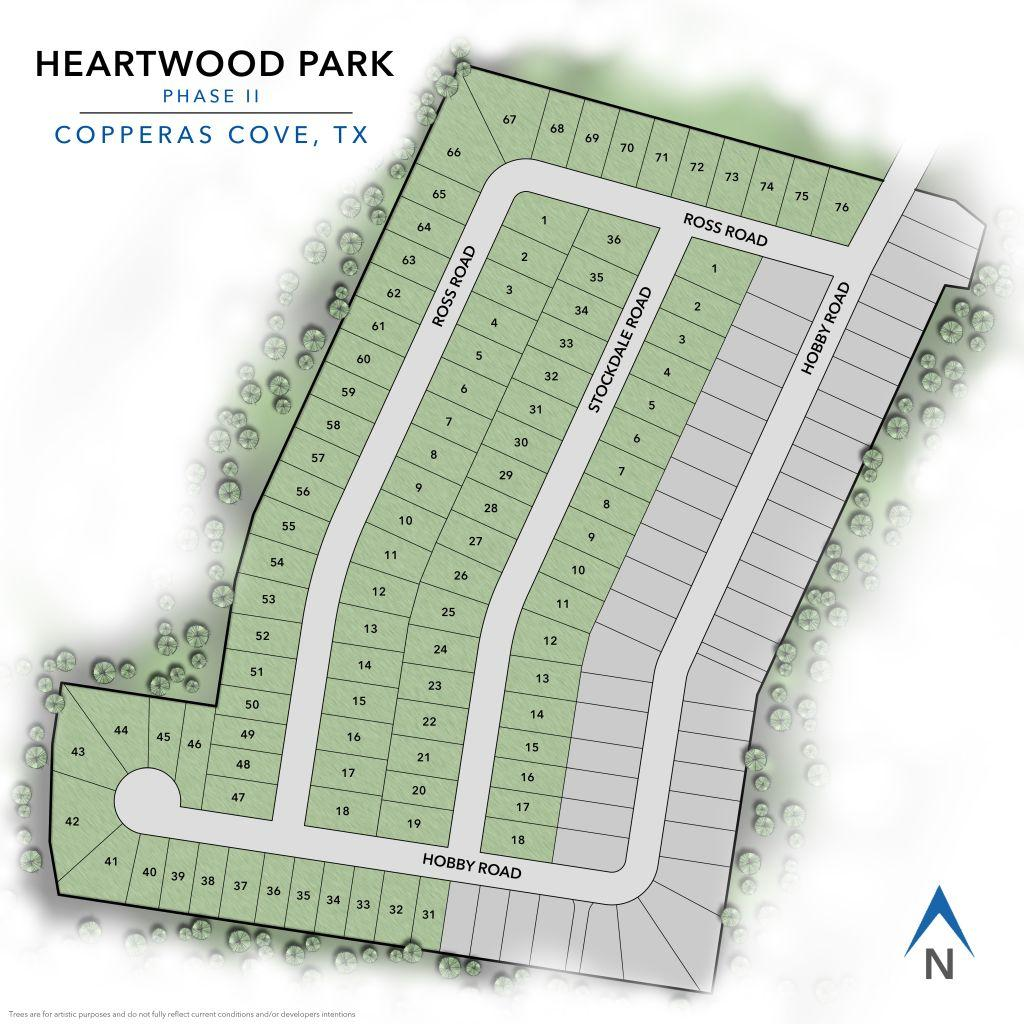 Copperas Cove, TX Heartwood Park New Homes from Stylecraft Builders