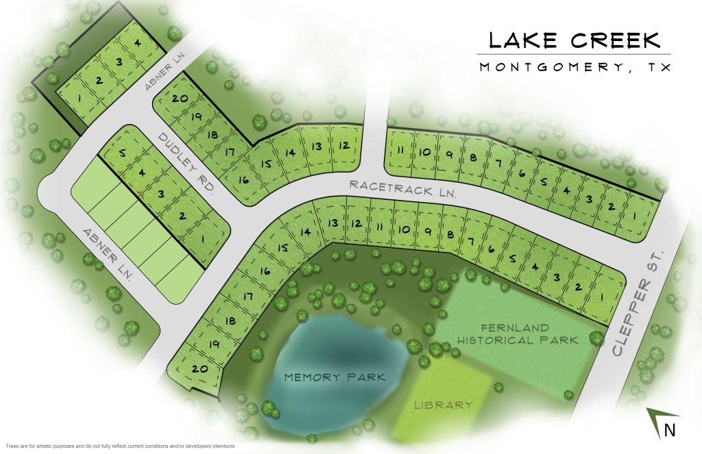 Montgomery, TX Lake Creek Village New Homes from Stylecraft Builders