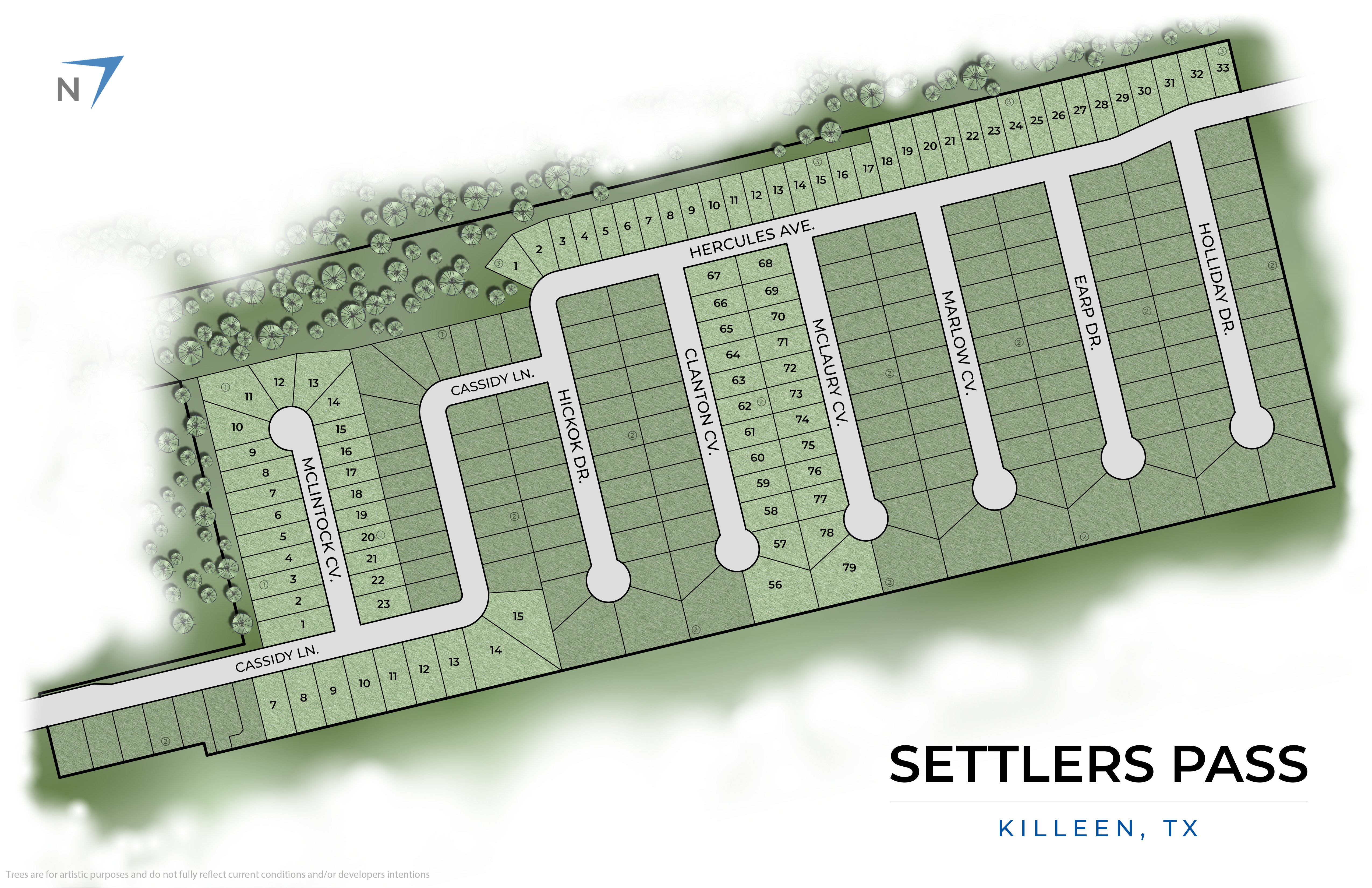 Killeen, TX Settlers Pass New Homes from Stylecraft Builders