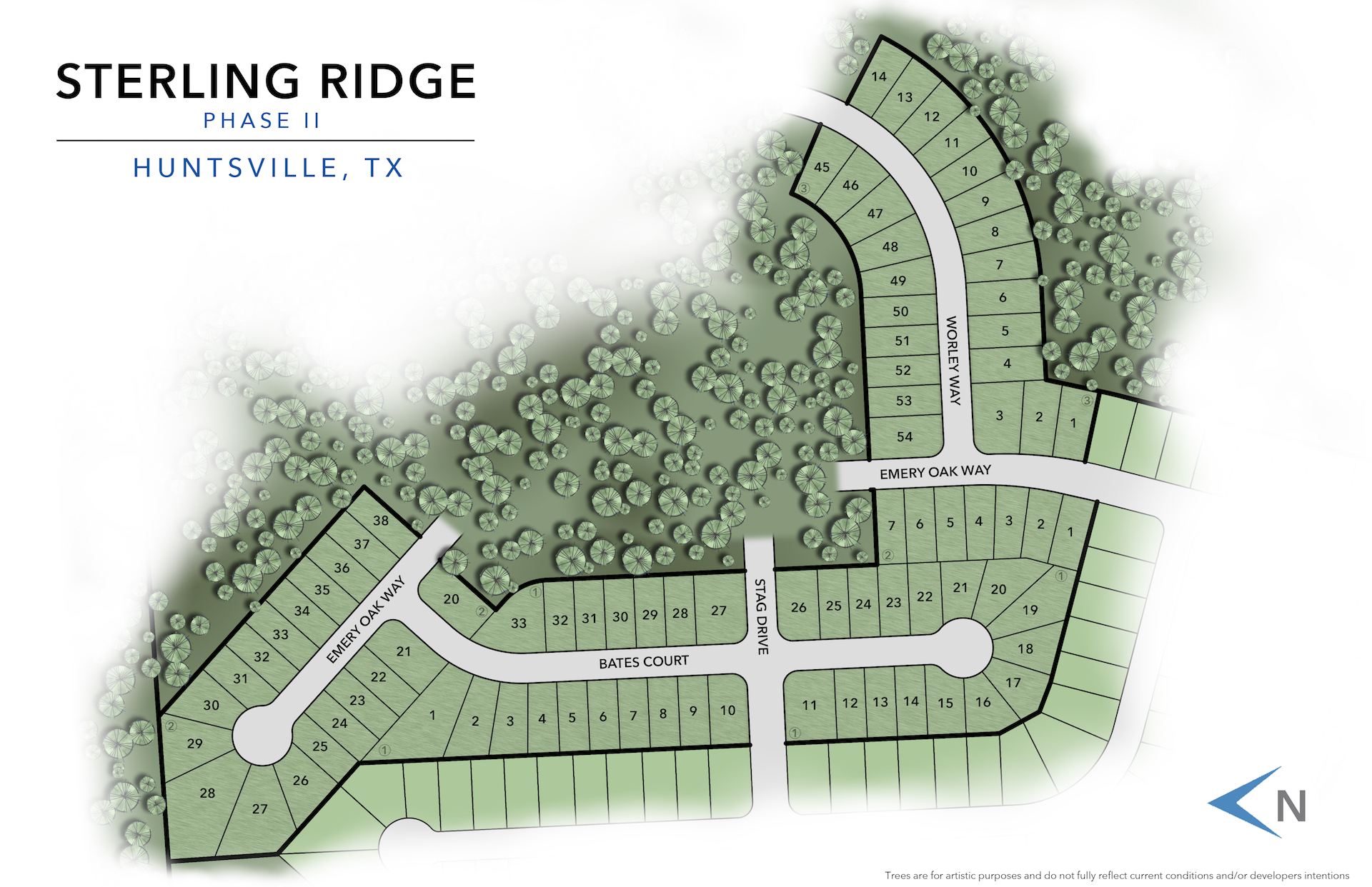 Huntsville, TX Sterling Ridge New Homes from Stylecraft Builders