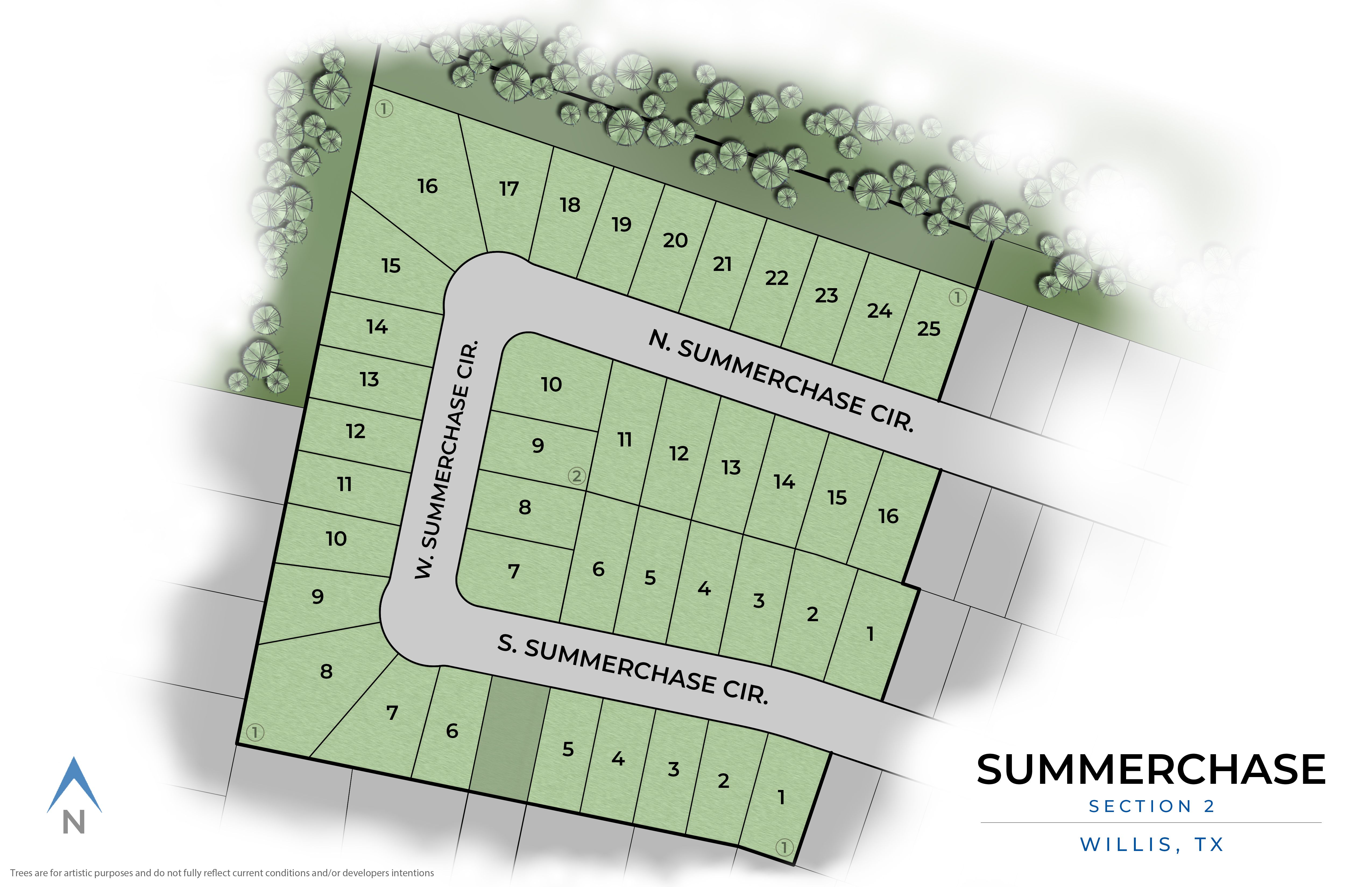 Willis , TX Summerchase New Homes from Stylecraft Builders