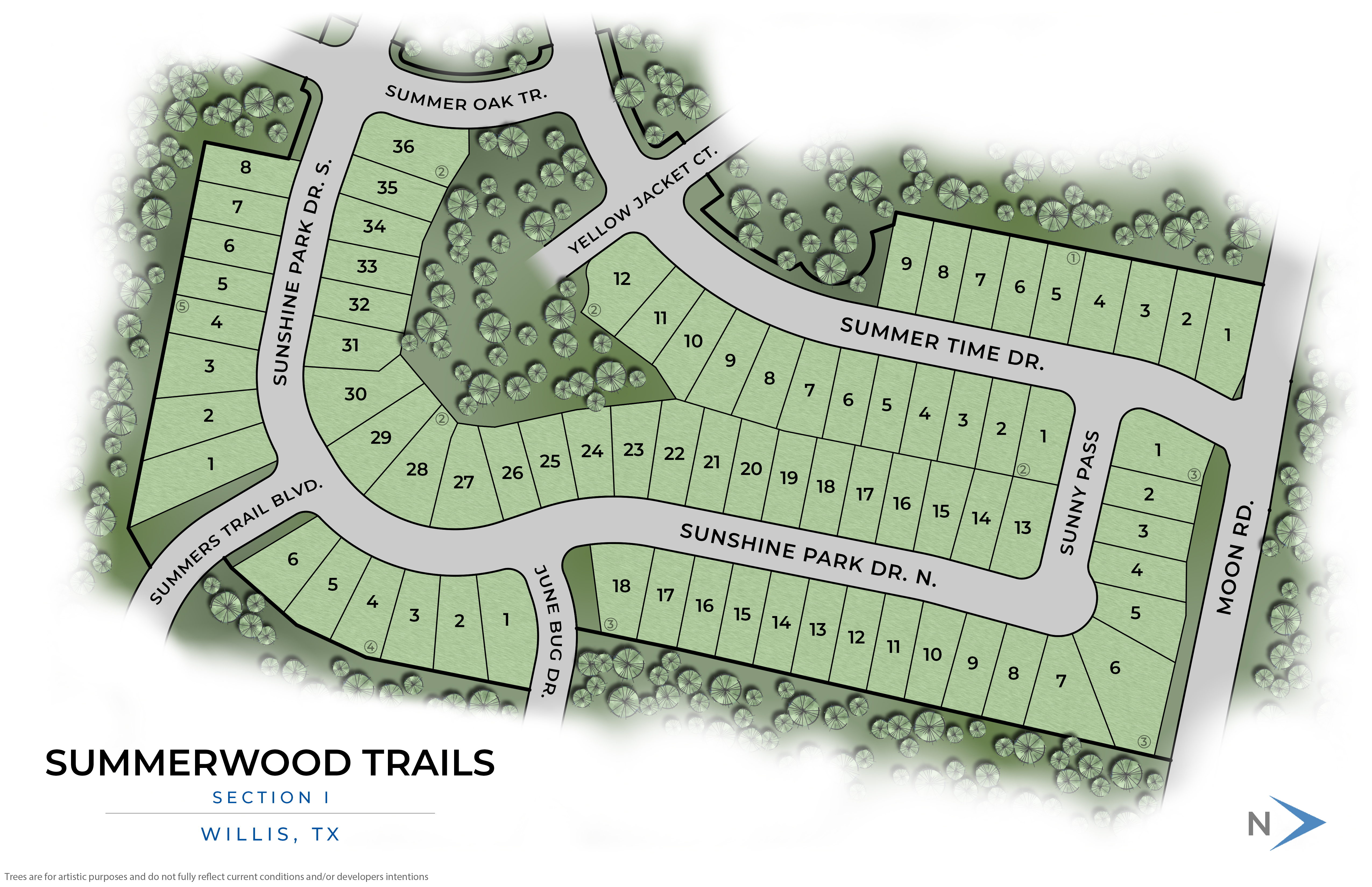 Willis, TX Summerwood Trails  New Homes from Stylecraft Builders