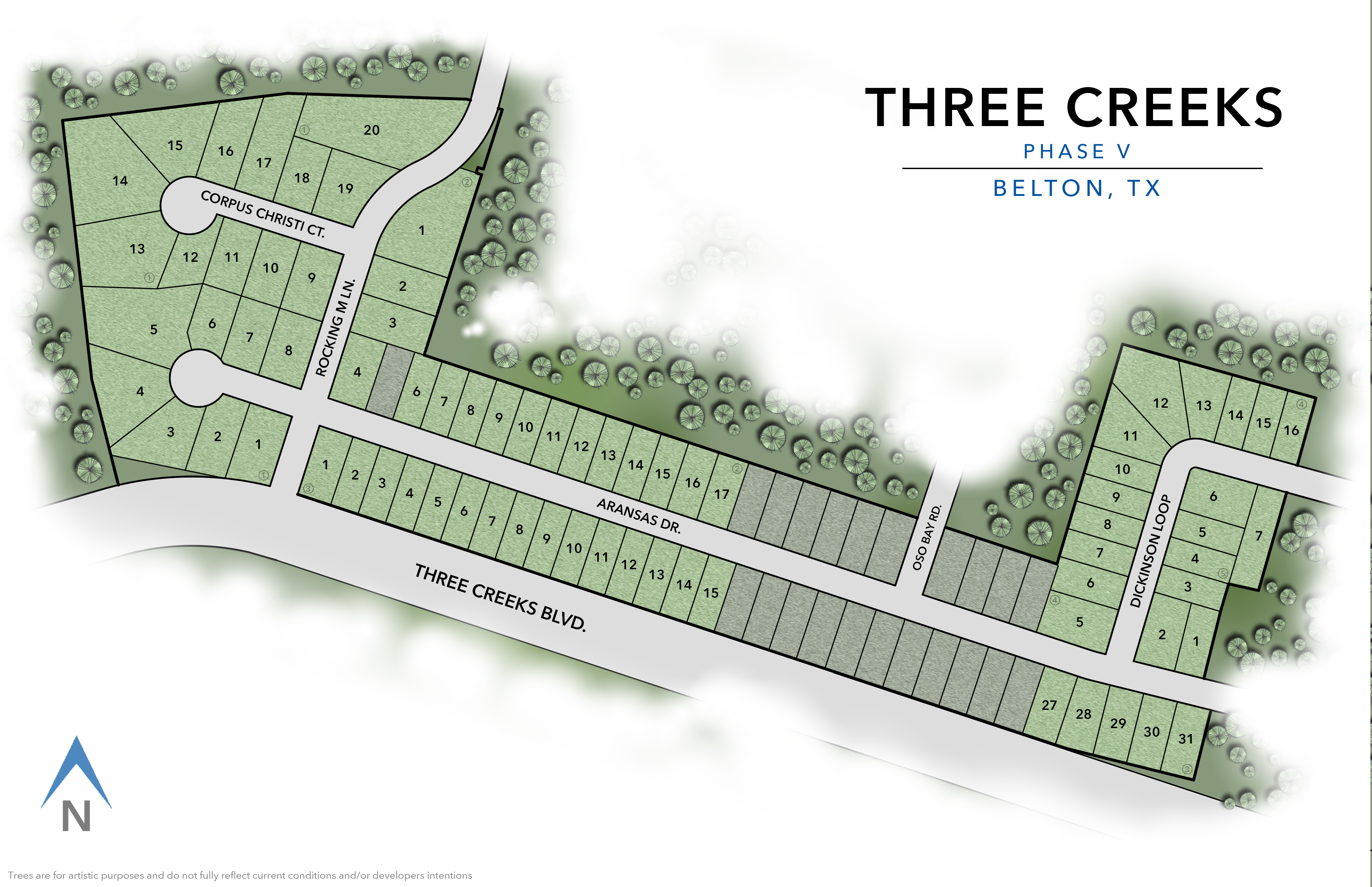 Belton, TX Three Creeks New Homes from Stylecraft Builders
